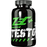 ZEC+ Testo+ Kapseln - 120 Stück, Testosteron Booster Kapseln, Muskelwachstum Booster mit D-Asparaginsäure