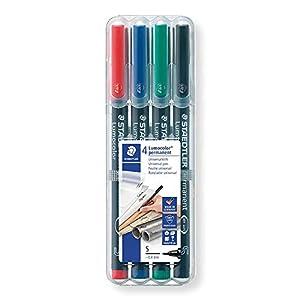 Lumocolor- Retro Rotulador permanente, Color azul (Staedtler 313-3)
