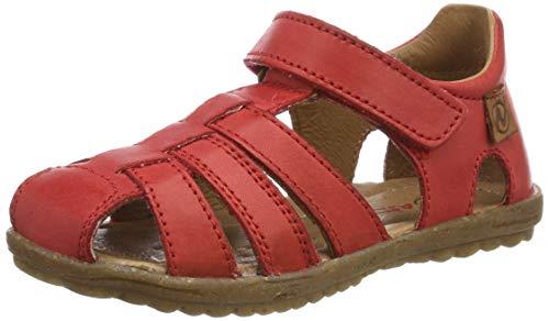 Naturino see, sandali alla schiava unisex bambini, (rosso 0h05), 28 eu