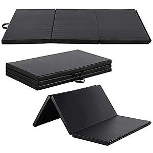 Yaheetech 180 x 120 x 5cm Gymnastikmatte Weichbodenmatte Turnmatte Tragbar...