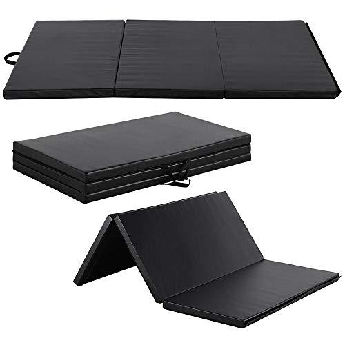 Yaheetech 180 x 120 x 5cm Gymnastikmatte Weichbodenmatte Turnmatte Tragbar Klappbar Yogamatte Fitnessmatte