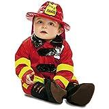 My Other Me - Disfraz de Bombero para bebé, talla 7-12 meses (Viving Costumes MOM00908)