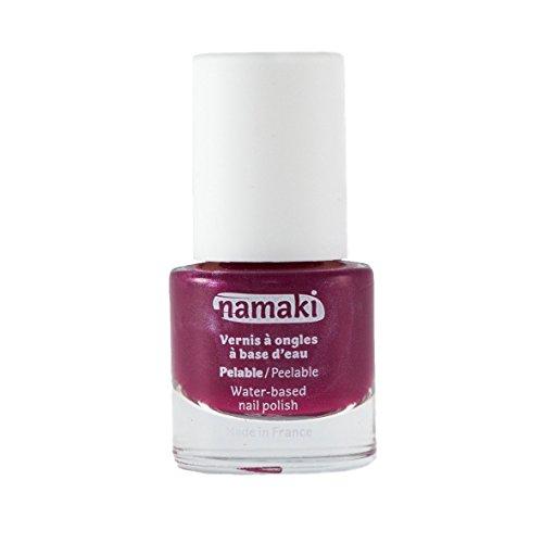 Generique - Vernis à Ongles Base Eau pelable Framboise 7,5 ML Namaki Cosmetics