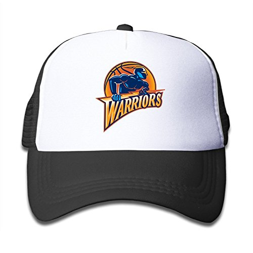 Hittings Youth Kids New Golden State Warriors Baseball Cap Hat Snapback Black Black