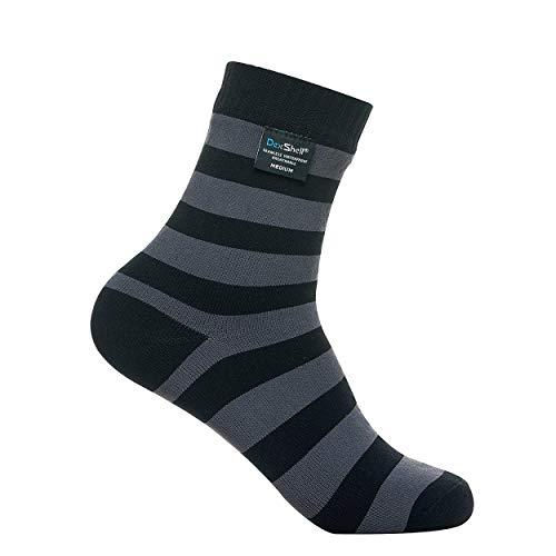 Dexshell Herren Bamboo Ultralite Socken, Schwarz/Grau, Size 9-11