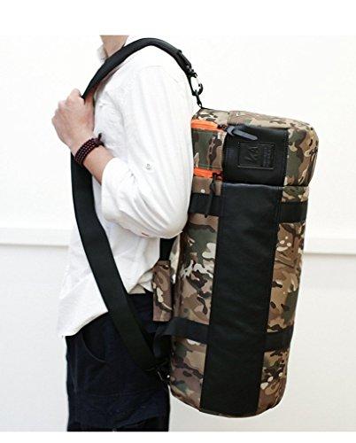 T & Y Outdoor Sports Gym Umhängetaschen Travel Tote Taschen - camouflage