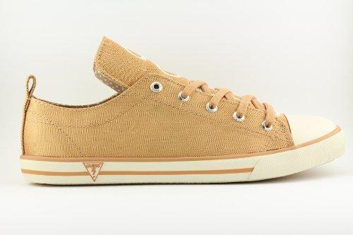 Scarpe Guess donna- Modello Sneakers basse - Codice Jodene active woman FL1JAYFAB12 - Colore Bronzo.