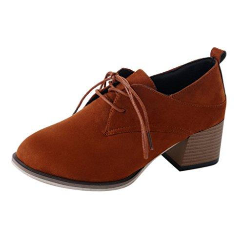 VENMO Damen Stiefeletten Soft Thick High Heel Plateaustiefel Stiefel Martin Stiefel Schuhe Ankle...
