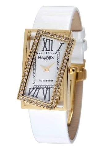 Haurex Italy Women's FY329DW1 Ivresse White Dial Watch