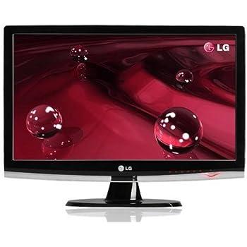 LG Electronics W2453TQ-PF 61 cm (24 Zoll) Widescreen TFT Monitor DVI-D / VGA (Kontrastverhältnis 50.000:1, Reaktionszeit 2ms) schwarz