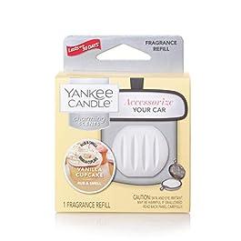 YANKEE CANDLE Vanilla Cupcake Refill Charmin profumatore per Auto, Multicolore, Unica