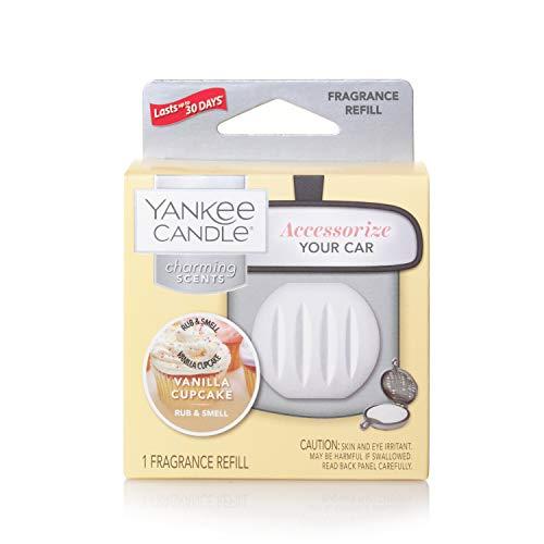 YANKEE CANDLE Vanilla Cupcake Refill Charmin profumatore per Auto, Multicolore, U