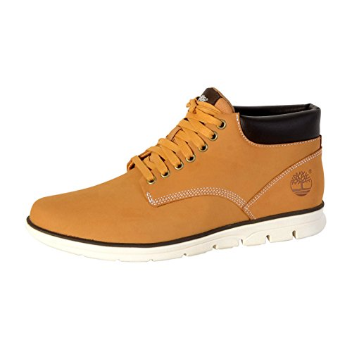 Timberland Men's Bradstreet Chukka Boots, Wheat Nubuck, 9 UK