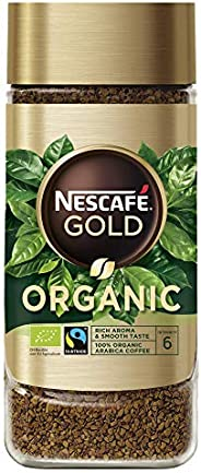 Nescafe GOLD Organic Instant Coffee, 100g - Pack of 1, 12354827