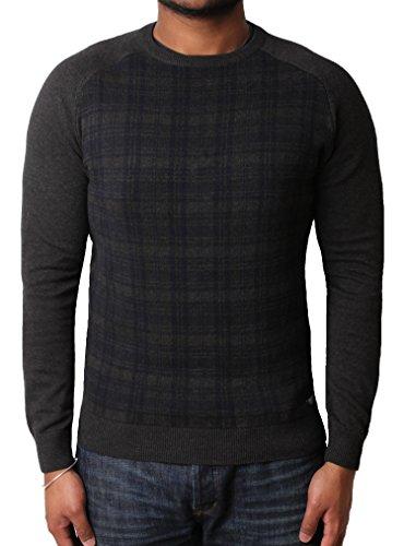 Threadbare Herren Pullover Large Grau - Dunkelgrau