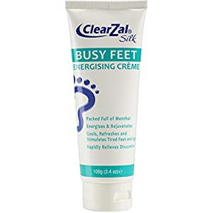 ClearZal Silk Busy Feet