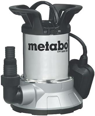 Metabo 250660006 Flachs.Tauchpumpe TPF6600SN, 450W, 230Volt, 50Hz von Metabo