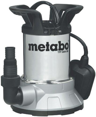Metabo 250660006 Flachs.Tauchpumpe TPF6600SN, 450W, 230Volt, 50Hz