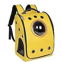 Anap Zaino portabagagli Deluxe per Cani e Gatti di Piccola Taglia Design ventilato Uso Esterno Caratteristiche di Sicurezza e Supporto per Schienale entrata bilaterale per Viaggi