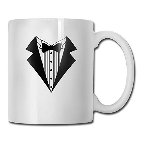 Great Tuxedo Tea Cup Novelty Gift for Friends - Bodysuit Tuxedo