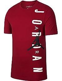 meet 50e6b 3fd87 Nike Maglia Maglietta T-Shirt Jordan Jumpman Graphic Uomo Rosso BV0086-687