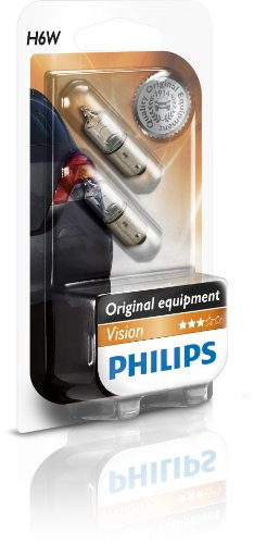 Preisvergleich Produktbild Philips 12036B2 Glassockellampe Vision, H6W