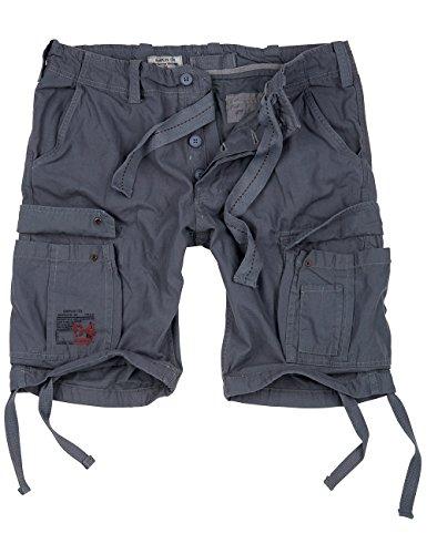 Surplus Herren Airborne Vintage Cargo Shorts, grau, Größe XXL