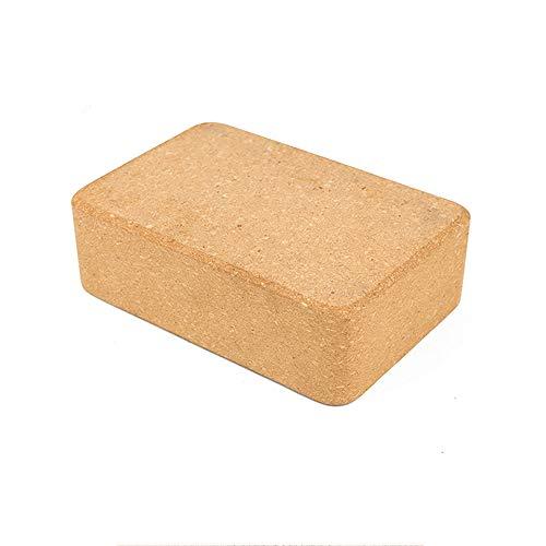 Yoga Cork Block Yoga Brick Yoga Assistive Professional Bricks Ecologisch hergestellten High Density Pilates Block für die Unterstützung von Yoga-Posen für Yoga Pilates Fitness