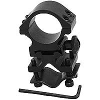 Mangobuy Taktische 1 Paar 25,4 mm Durchmesser Durchsichtige Zielfernrohr Weaver Ringhalterung Picatinny 20mm Schiene f/ür die Jagd