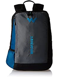 Wildcraft 20 Ltrs Blue Casual Nylon Backpack (Streak)
