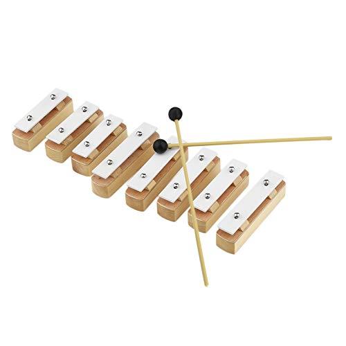 TB8A Sonder Ausführung Aluminium Holz Musikinstrument 8 Hinweise aus Holz Xylophon Frühe Kindheit Weisheit Musik-Instrument