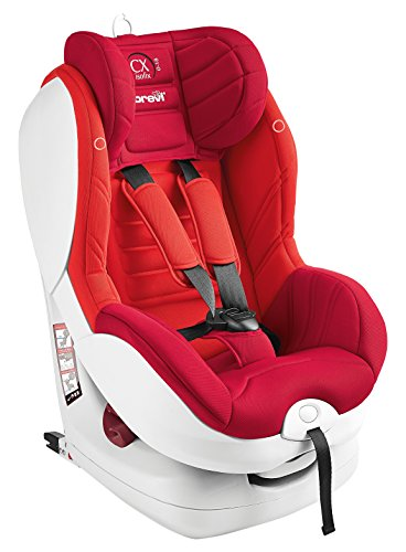 BREVI CX ISOFIX TT ASIENTO AUTO TOP TETHER ROJO GROUP 0 +/1