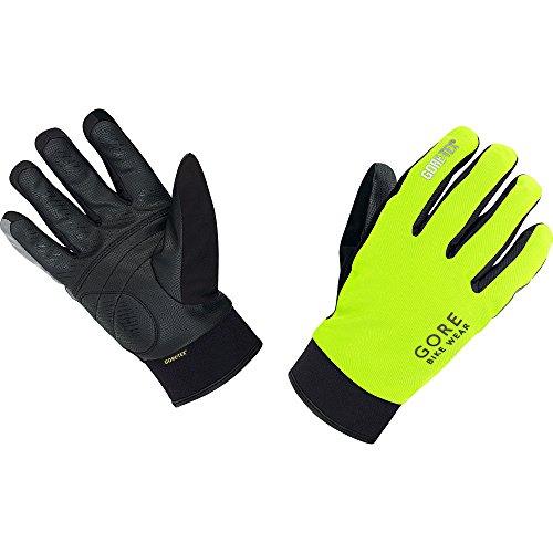 GORE BIKE Wear Herren Thermo-Regen-Fahrradhandschuhe, GORE-TEX, UNIVERSAL Thermo Gloves, Größe 10, Neon Gelb/Schwarz, GCOUNW - 2