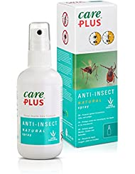 Tropicare Care Plus del Anti-insecto Natural Spray - Mosquitos y Protección contra garrapatas - 100 ml