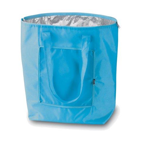 GRANDE BORSA FREDDO CHE ripiega per un facile trasporto! PIEGHEVOLE cooler borsa (blu)