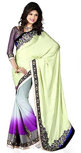 VINTAGE Girls cotton saree(VINTAGE O25_multi colour_Freesize)