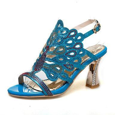 Rtry Femmes Sandales Printemps Été Club Chaussures Confort Nouveauté Matériaux Personnalisés Robe De Mariage En Plein Air Occasionnel Chunky Talon Rhineston Us12 / Eu44 / Uk10 / Cn46