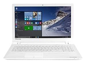 """Toshiba Satellite C55-C-1Q5 Ordinateur Portable 15"""" Blanc (Intel Pentium, 6 Go de RAM, Disque dur 1 To, Windows 10)"""