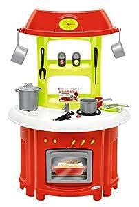 Cocina de juguete tradicional 100% Chef con 17 accesorios (Ecoiffier 1759)
