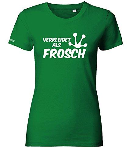 Jayess Verkleidet ALS Frosch - KOSTÜM - Grün - Women T-Shirt by Gr. ()