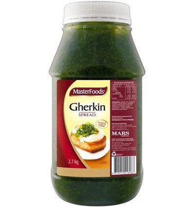 Die Firma Masterfoods-Relish Gurke Verbreiten 2,7 kg