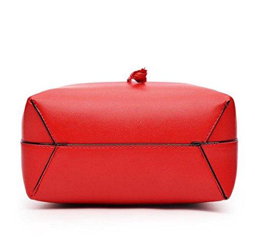 Sacchetti Di Modo Delle Borse Sacchetto Di Spalla Del Sacchetto Del Messaggero Delle Borse Della Benna Di Stile Europeo Ed Americano Red