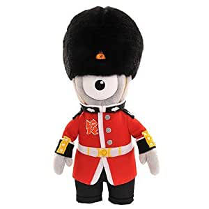 London 2012 Olympic Games Mascot, Wenlock, Queen's Guard