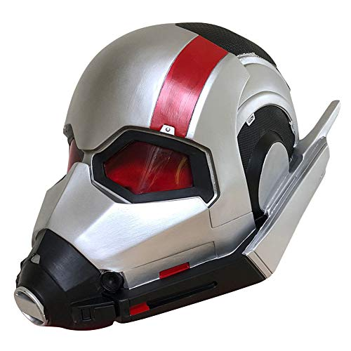 (QQWE Ant Man Maske Helm Marvel Hero Ant Krieger Helm Halloween Performance Party Film Cosplay Requisiten PVC Maske,A-OneSize)