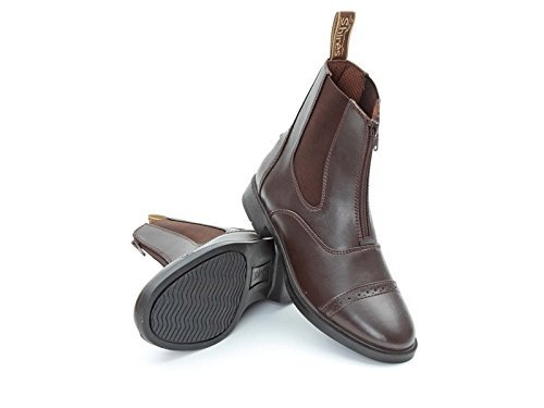 Shires Shires harvies PVC Zip Up Jodhpur-Boots 28/Größe 10