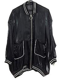 3a54be00 Zara Women's Organza-Effect Bomber Jacket 0787/220 Black