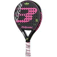 Bull padel Libra 2018 Pala de pádel de Tenis, Mujer, Negro/Rosa, 0.345