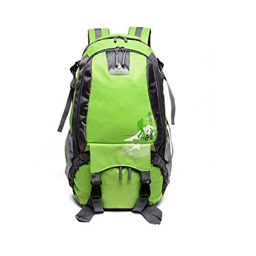 Rucksack Zaino leggero imballabile durevole viaggio trekking zaino Daypack , Yellow green