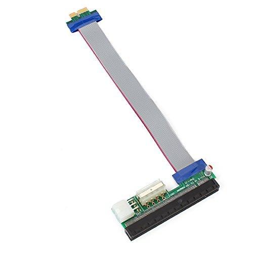 DN 30 centimetri di potenza doppia alimentazione 1X a 16X PCI-E Extender Cable Scheda grafica potenti