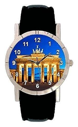 Berlin Brandenburg Gate Photo Design Watch with